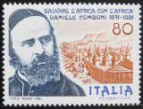 Poštovní známka Itálie 1981 Daniele Comboni, misionář v Africe Mi# 1742