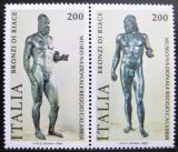 Poštovní známky Itálie 1981 Řecké sochy Mi# 1773-74
