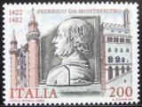 Poštovní známka Itálie 1982 Federico da Montefeltro Mi# 1809