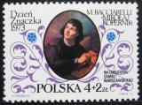 Poštovní známka Polsko 1973 Mikuláš Kopernik Mi# 2274