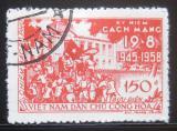 Poštovní známka Vietnam 1958 Srpnová revoluce Mi# 79