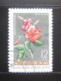 Poštovní známka Vietnam 1962 Hibiscus rosa sinensis Mi# 207