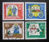 Poštovní známky Německo 1966 Pohádky Mi# 523-26