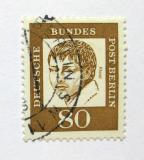 Poštovní známka Západní Berlín 1961 Heinrich von Kleist Mi# 211 Kat 10€
