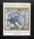 Poštovní známka Island 1985 Umění, Kjarval Mi# 641