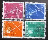Poštovní známky Švýcarsko 1952 Telekomunikace Mi# 566-69 Kat 10€
