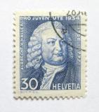 Poštovní známka Švýcarsko 1934 Albrecht Haller Mi# 284 Kat 10€