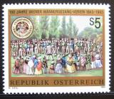 Poštovní známka Rakousko 1993 Mužský sbor Mi# 2107