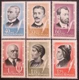 Poštovní známky Rumunsko 1965 Osobnosti Mi# 2396-2401