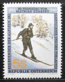 Poštovní známka Rakousko 1990 Mathias Zdarsky Mi# 1998
