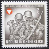 Poštovní známka Rakousko 1969 Federální armáda Mi# 1293
