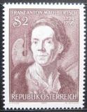 Poštovní známka Rakousko 1974 Franz Mauelbertsch, malíř Mi# 1455