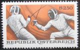 Poštovní známka Rakousko 1974 Šerm Mi# 1456