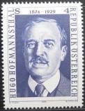 Poštovní známka Rakousko 1974 Hugo Hofmannsthal, básník Mi# 1438