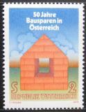 Poštovní známka Rakousko 1975 Asociace stavitelů Mi# 1497