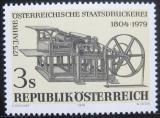 Poštovní známka Rakousko 1979 Tiskařský stroj Mi# 1620