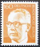 Poštovní známka Západní Berlín 1972 Prez. Heinemann Mi# 396