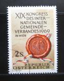Poštovní známka Rakousko 1969 Pečeť Vídně Mi# 1303