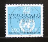 Poštovní známka Rakousko 1970 OSN, 25. výročí Mi# 1347