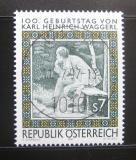 Poštovní známka Rakousko 1997 Karl Heinrich Waggerl Mi# 2228