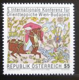 Poštovní známka Rakousko 1986 Orientální koberec Mi# 1862