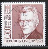 Poštovní známka Rakousko 1979 Jodok Fink, politik Mi# 1614
