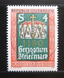 Poštovní známka Rakousko 1980 Vévodství Štýrské Mi# 1648