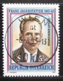 Poštovní známka Rakousko 1993 Franz Jagerstatter Mi# 2105