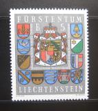 Poštovní známka Lichtenštejnsko 1973 Erby Mi# 590 Kat 8€