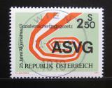 Poštovní známka Rakousko 1981 Sociální zabezpečení Mi# 1664