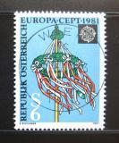 Poštovní známka Rakousko 1981 Evropa CEPT Mi# 1671