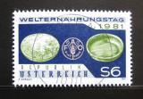 Poštovní známka Rakousko 1981 Světový den potravin Mi# 1686