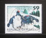 Poštovní známka Rakousko 1998 Tetřívek obecný Mi# 2244