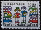 Poštovní známka Bulharsko 1988 Bezpečnost silničního provozu Mi# 3716