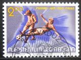 Poštovní známka Lichtenštejnsko 1990 MS ve fotbale Mi# 987