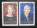 Poštovní známky Lichtenštejnsko 1991 Knížecí pár Mi# 1024-25