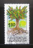 Poštovní známka Lichtenštejnsko 1993 Misionářská práce Mi# 1064