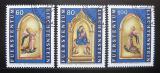 Poštovní známky Lichtenštejnsko 1995 Umění, Lorenzo Monaco Mi# 1120-22