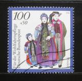 Poštovní známka Německo 1994 Lidové kroje, Vestfálsko Mi# 1759