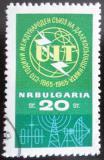 Poštovní známka Bulharsko 1965 ITU, 100. výročí Mi# 1537