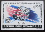 Poštovní známka Rwanda 1965 Výročí ITU neperf. Mi# 116 B Kat 21€