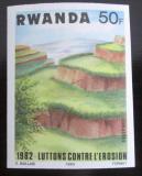 Poštovní známka Rwanda 1983 Půdní eroze neperf. Mi# 1231 B Kat 6€