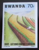 Poštovní známka Rwanda 1983 Půdní eroze neperf. Mi# 1233 B Kat 8€