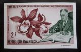 Poštovní známka Rwanda 1970 F. D. Roosevelt, vzácné Mi# 426 B