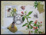 Poštovní známka Guinea-Bissau 2009 Včely Mi# Block 728 Kat 14€