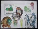 Poštovní známka Guinea-Bissau 2009 Minerály Mi# Block 715 Kat 14€
