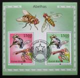 Poštovní známky Guinea-Bissau 2010 Včely Mi# Block 871 Kat 12€