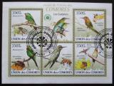 Poštovní známky Komory 2009 Ptáci Mi# 2352-56 Kat 9€