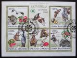Poštovní známky Komory 2009 Netopýři Mi# 2455-59 Kat 10€