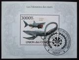 Poštovní známka Komory 2009 Velké ryby Mi# Block 574 Kat 15€